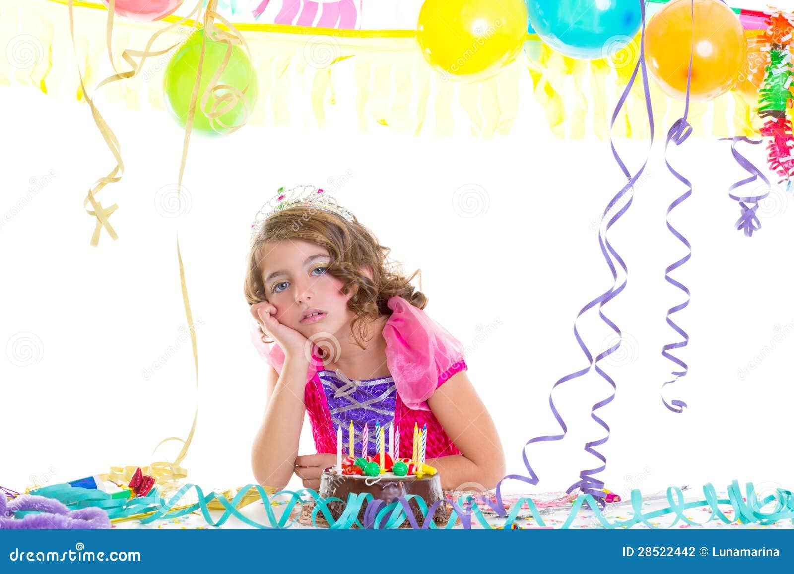 Princesa Real del niño del niño en fiesta de cumpleaños