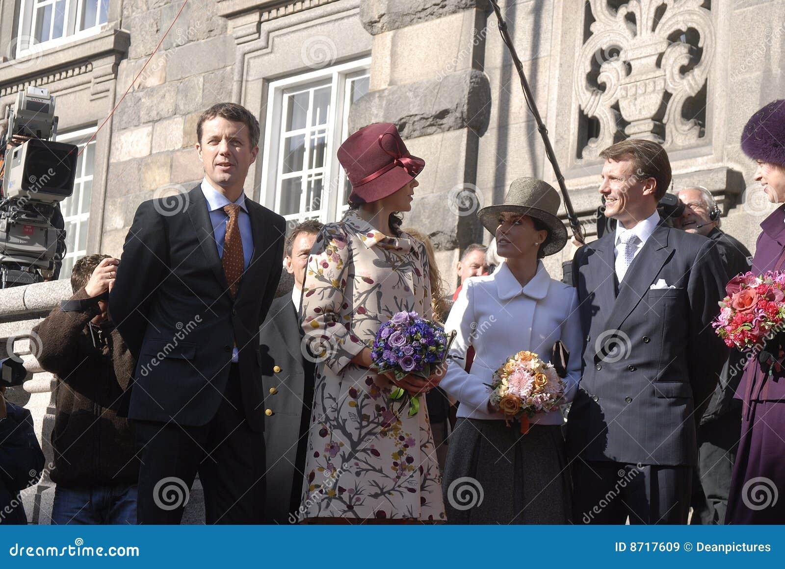 Princess принца Дании frederik mary кроны