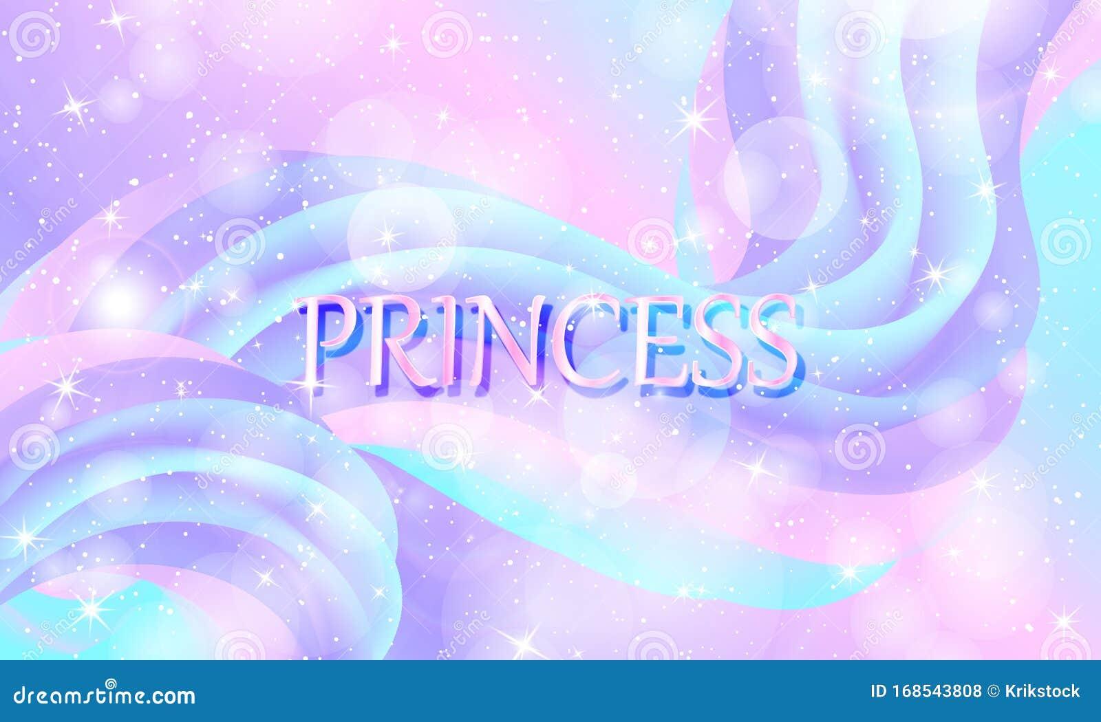 princess background mermaid rainbow vector magic stars unicorn pattern fantasy galaxy fairytale colors 168543808