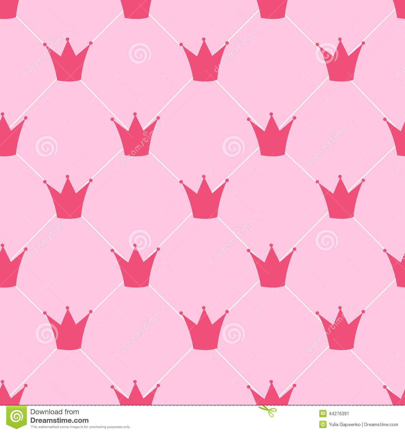 Pink Crowns Background