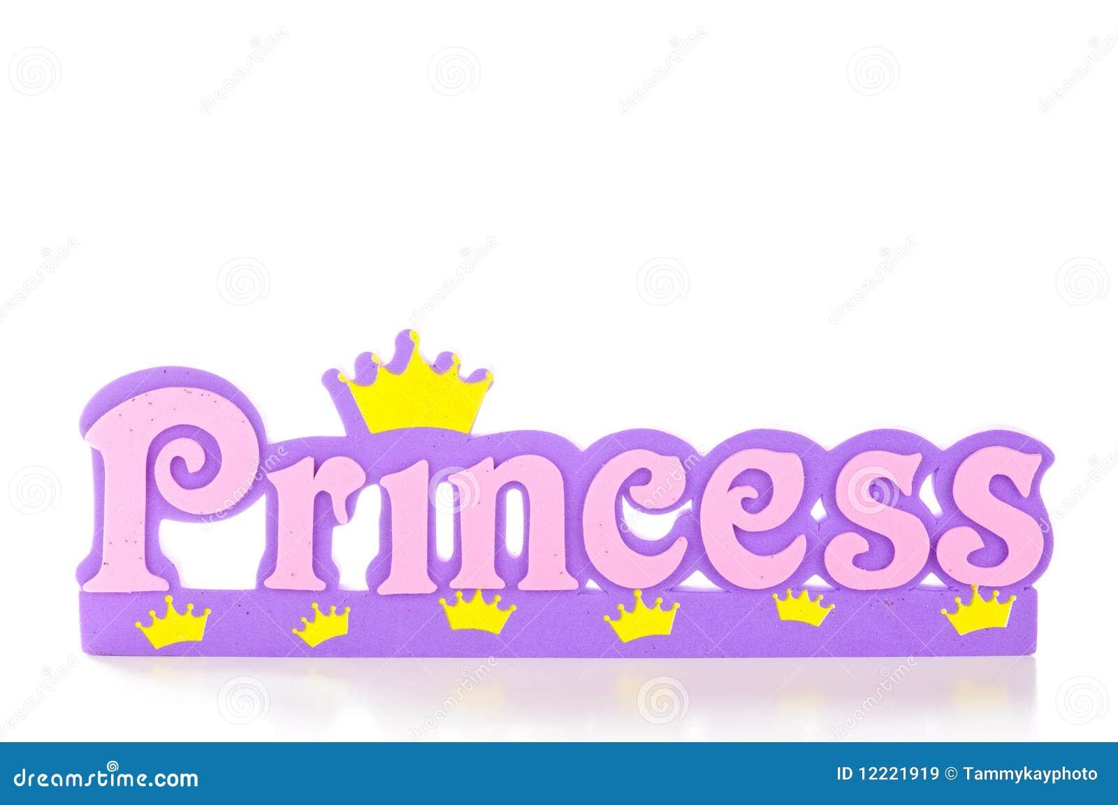 Princess Frame Royalty Free Stock Images - Image: 12221919