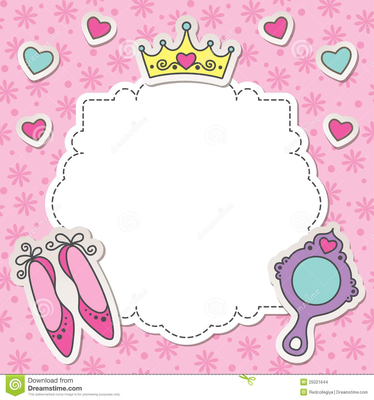 Princess shoes clip art