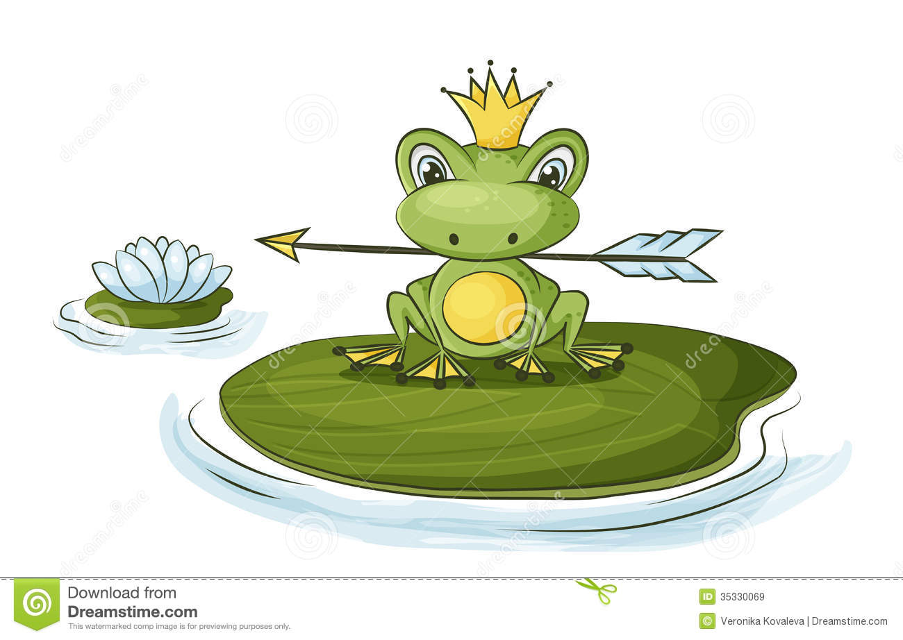Princess Frog Royalty Free Stock Images - Image: 35330069
