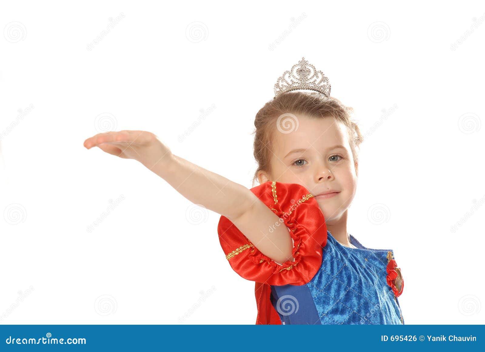 Princess giving