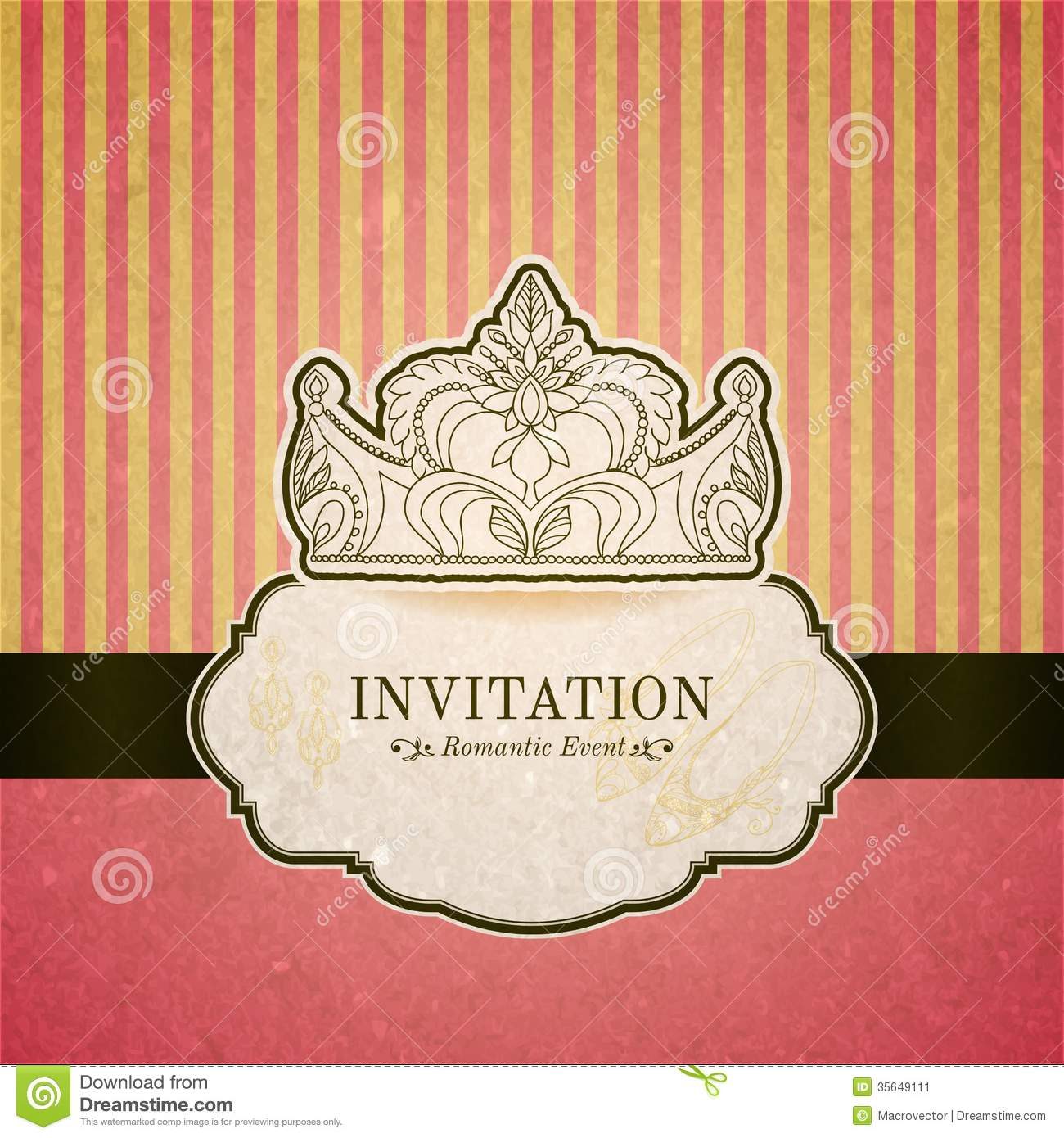 Princess Crown Baby Shower Invitations as beautiful invitations ideas