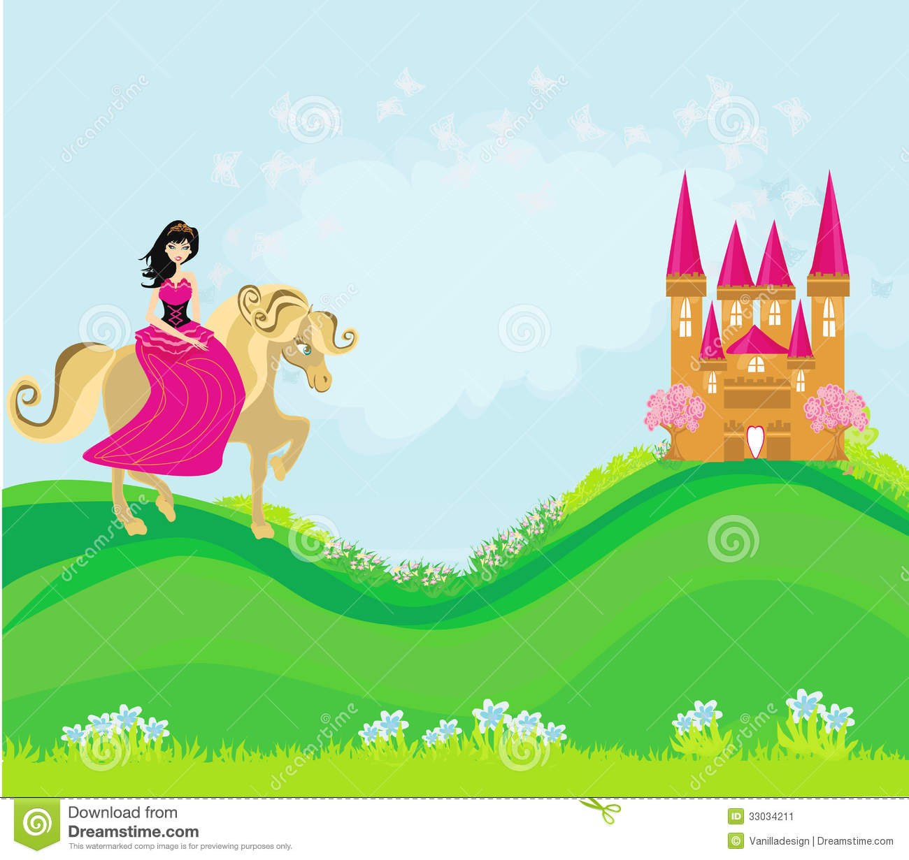 Fairy Tale Invitation with good invitations layout