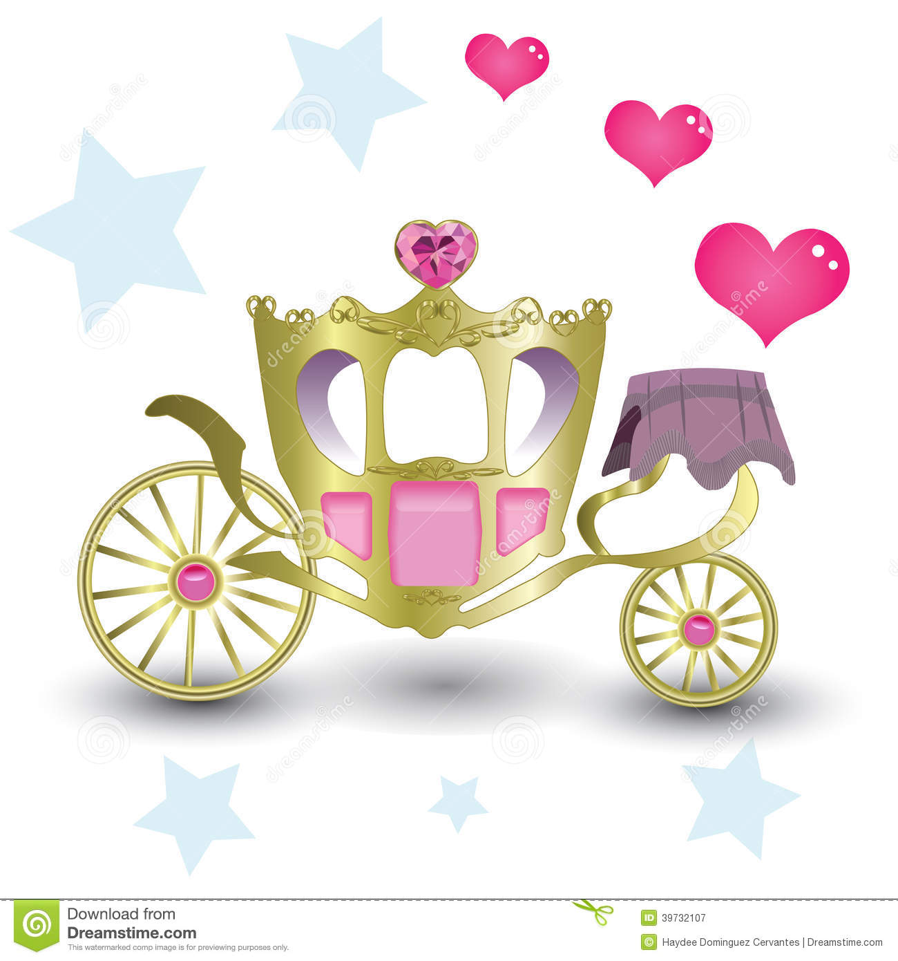 Royal carriage in silhouette royalty free stock vector art - Princess Royal Carriage Stock Illustration Image 39732107