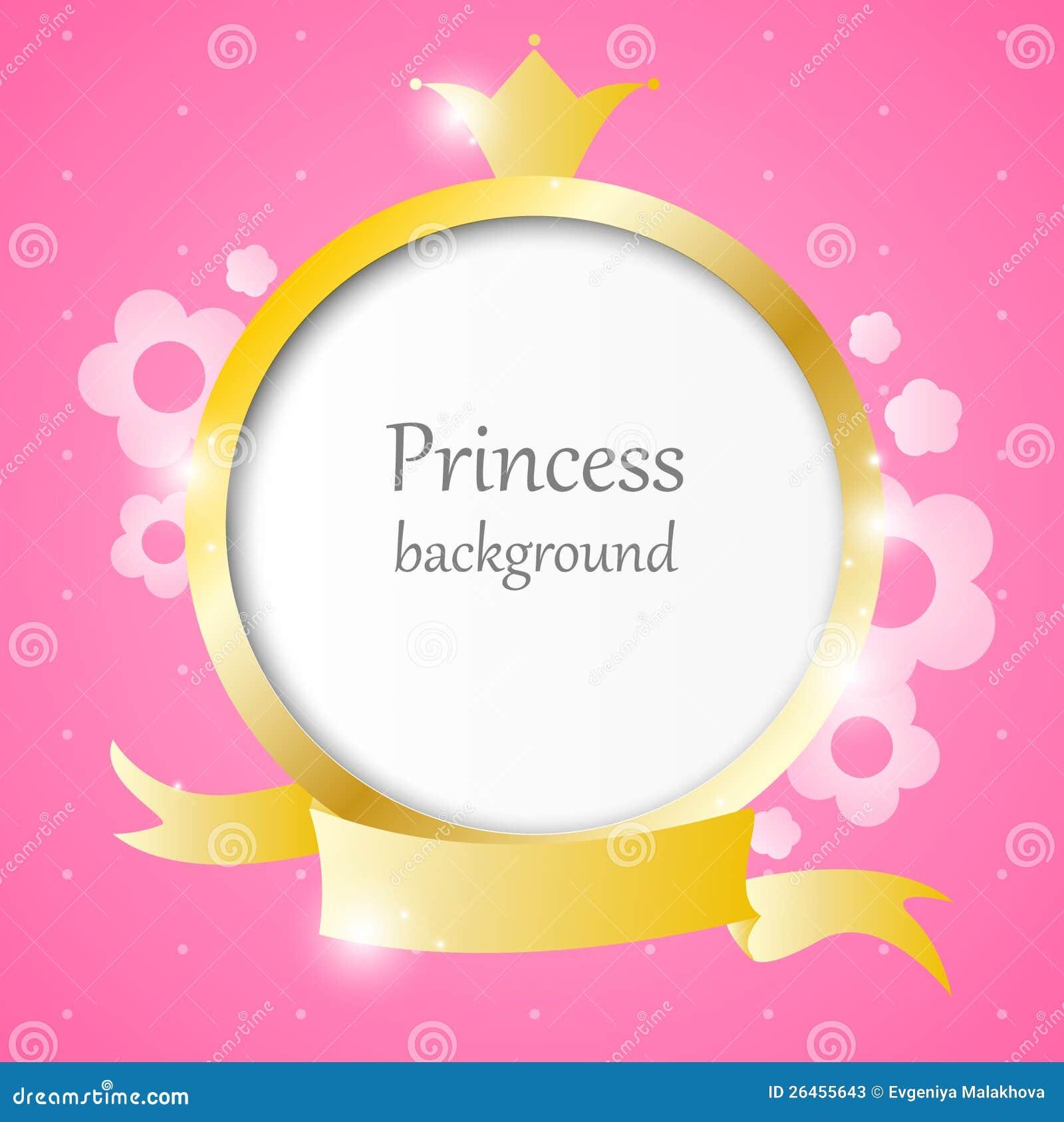 Princess tło