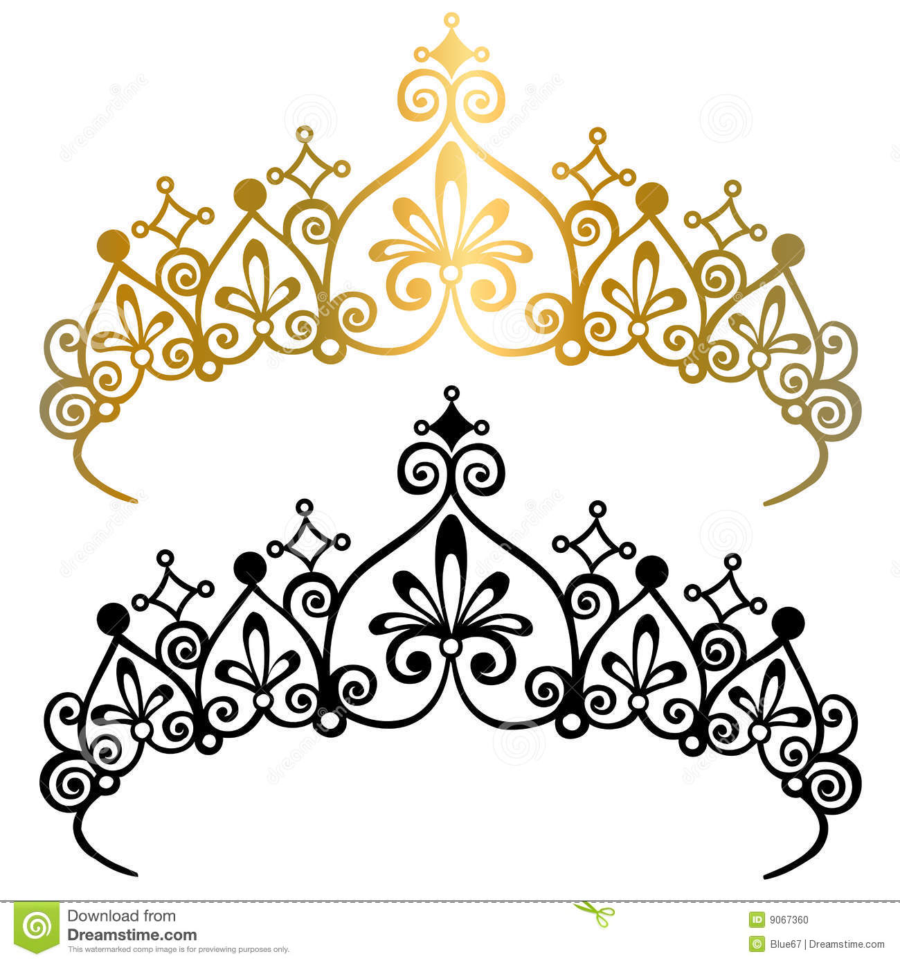 Queen Crown Clip Art Free Princess Tiara ...