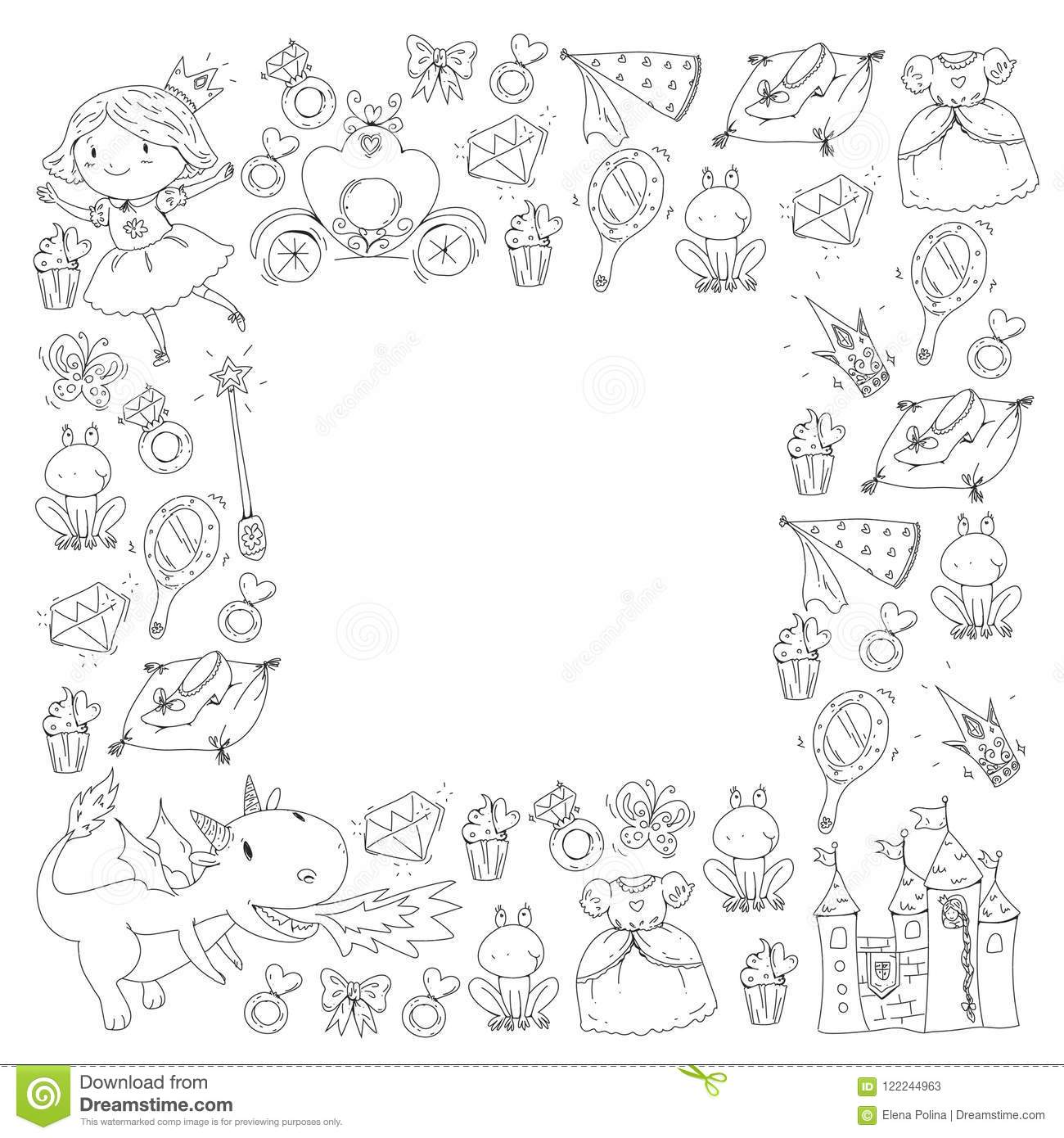 Coloring Page For Book Cute Little