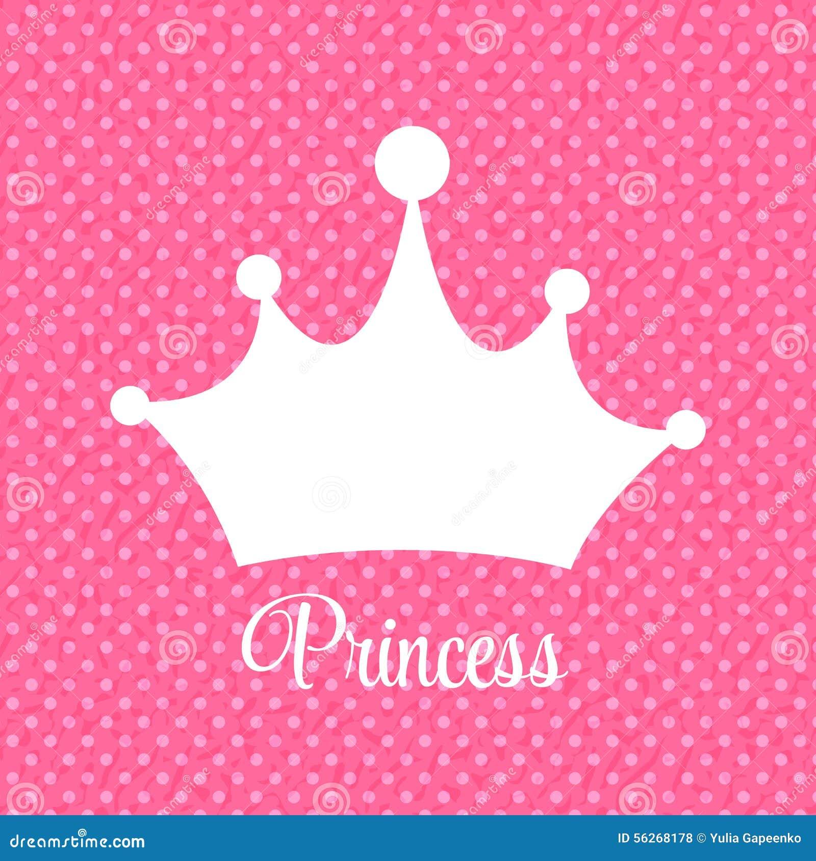Iphone wallpaper emoji - Princesse Background Avec L Illustration De Vecteur De