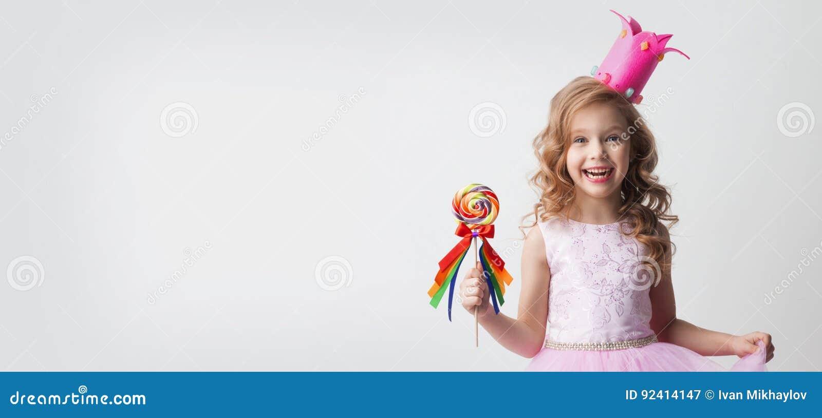 Princesse de sucrerie avec la lucette