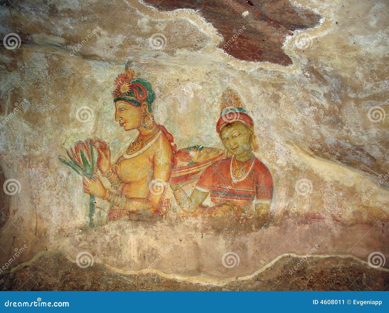 Princesses de Sigiriya