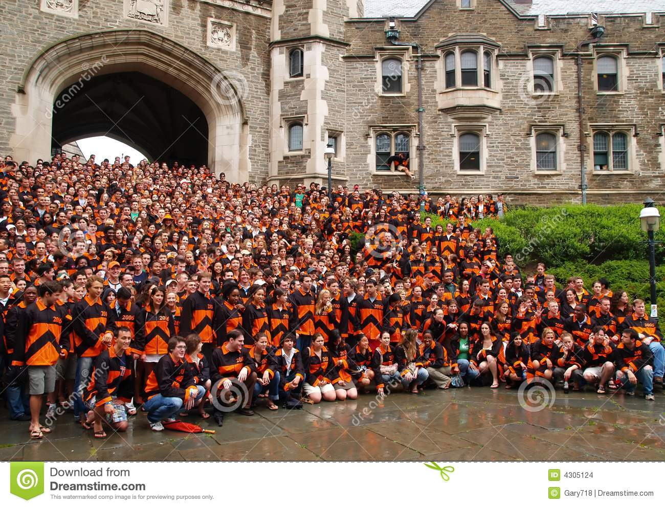 The Princeton Graduation Ceremony Editorial Stock Image - Image of ...