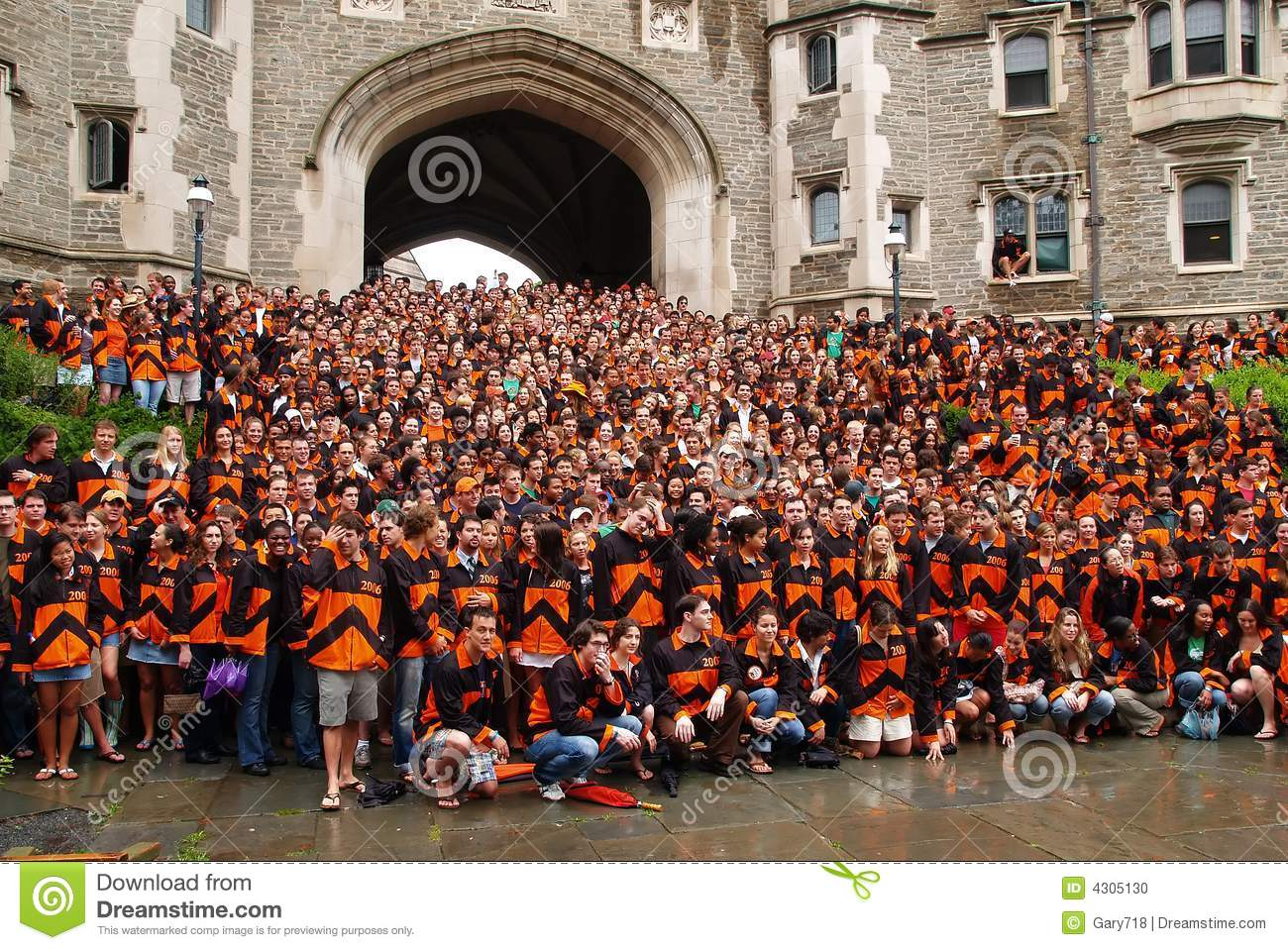 The Princeton Graduation Ceremony Editorial Image - Image of ...