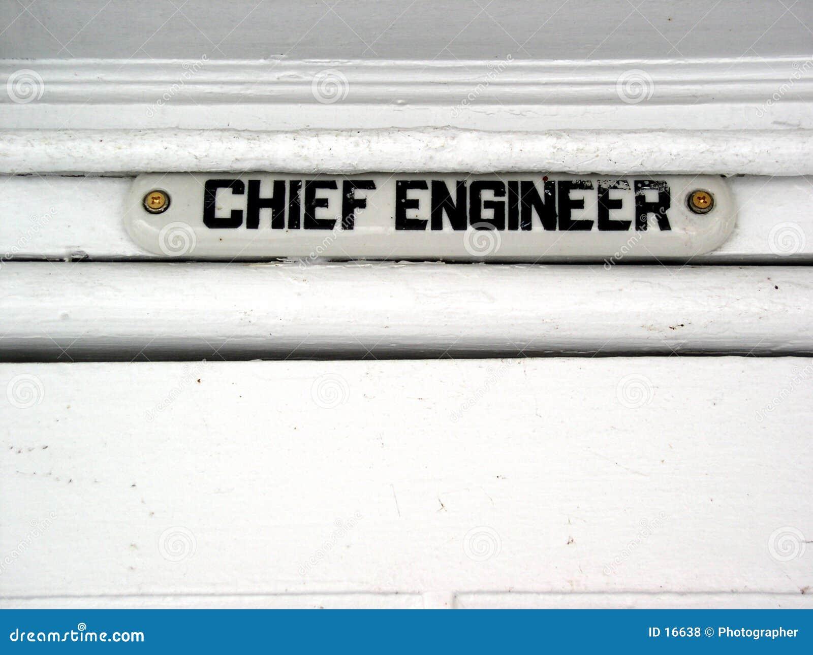 Principal ingeniero de la nave