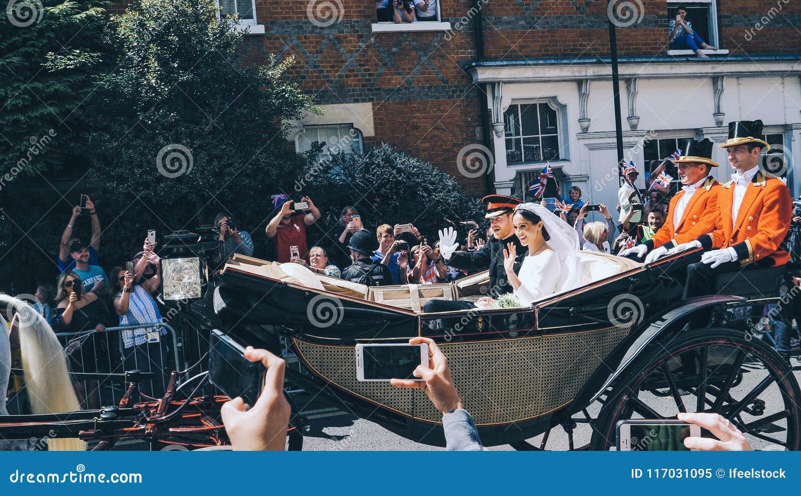 Prins Harry, hertig av Sussex och Meghan, hertiginna av Sussex tjänstledigheter