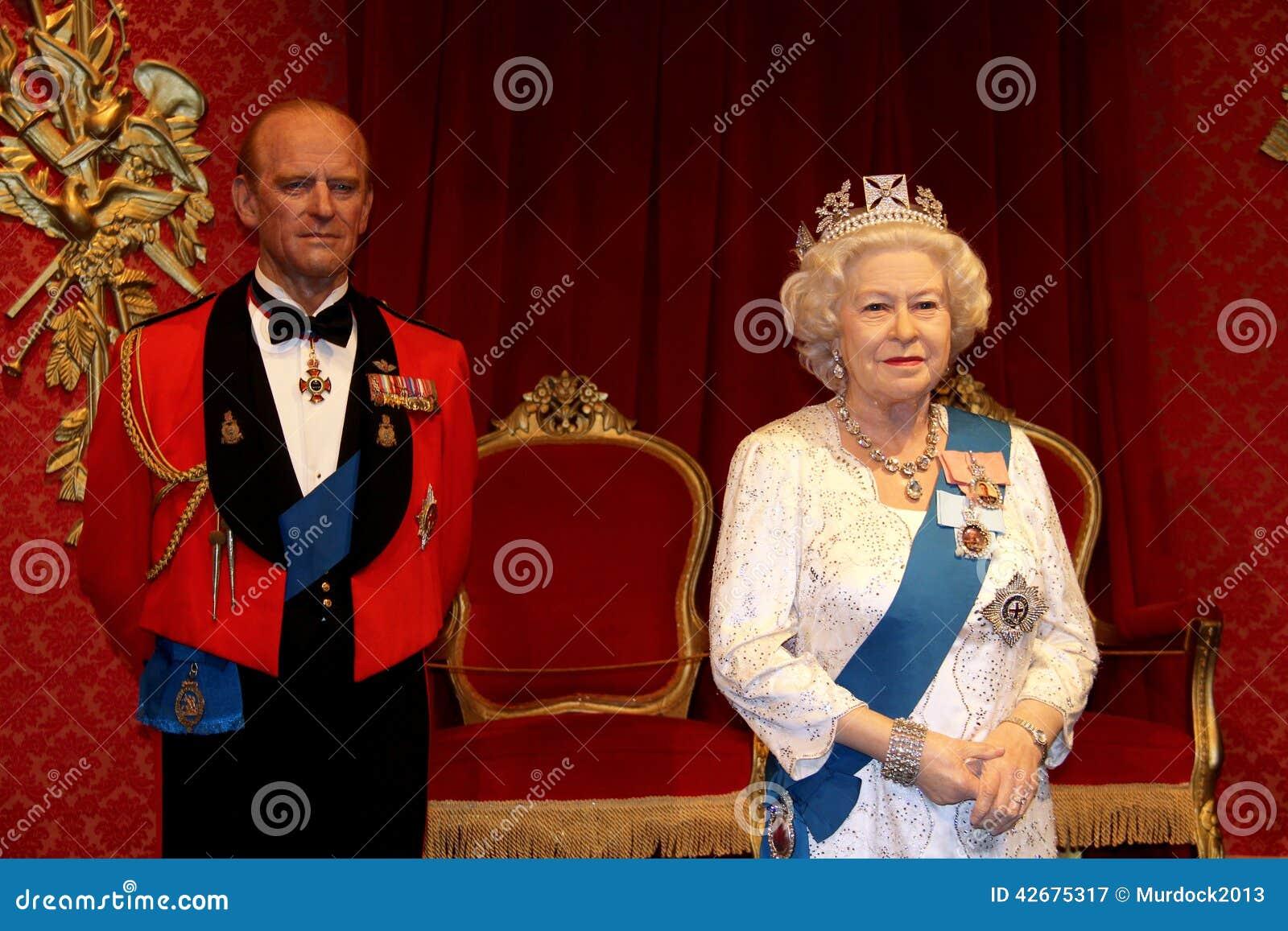 Prins Philip en Koningin Elizabeth 11