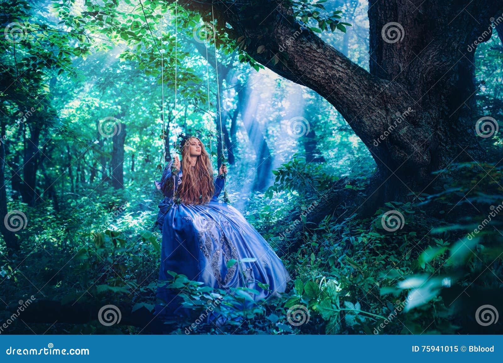 Prinsessa i magisk skog