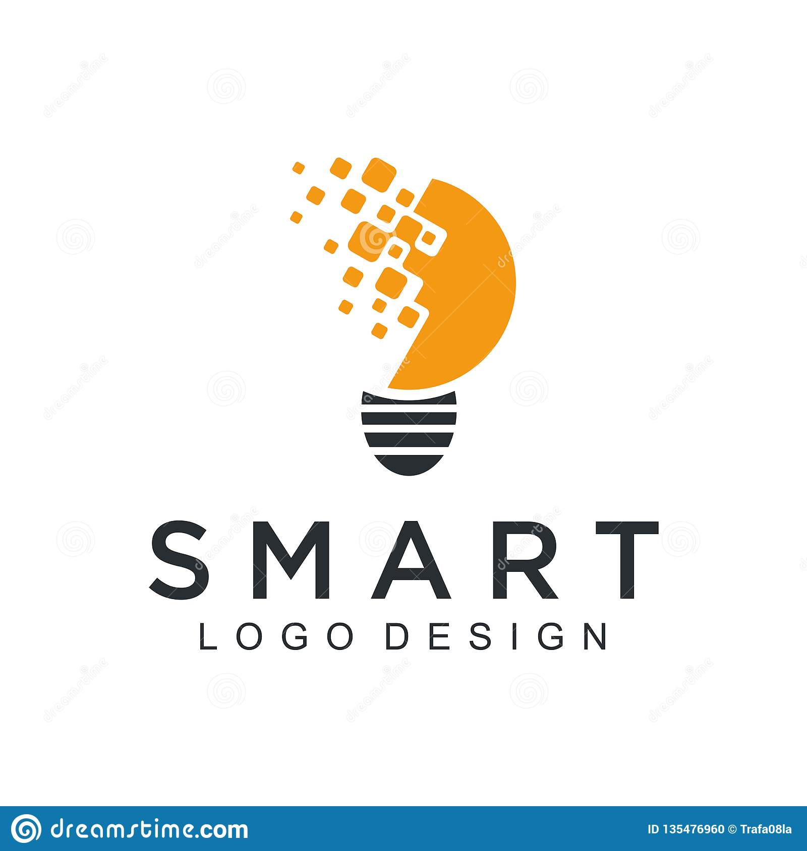 Technology logo simple tech design. Vector creative abstract circle round red flow shape modern icon for construction technology o