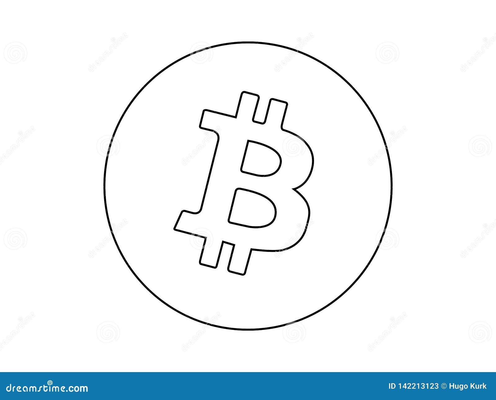 disegno bitcoin