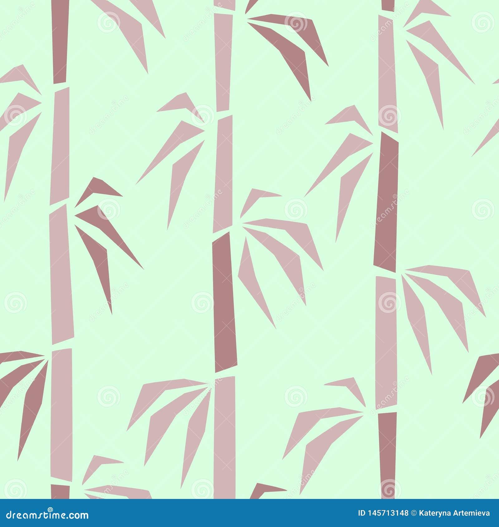 Bamboo surface seamless pattern