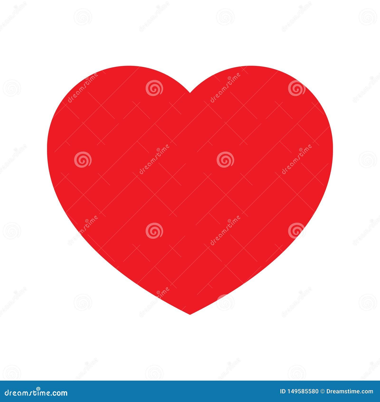 Heart logo for romance