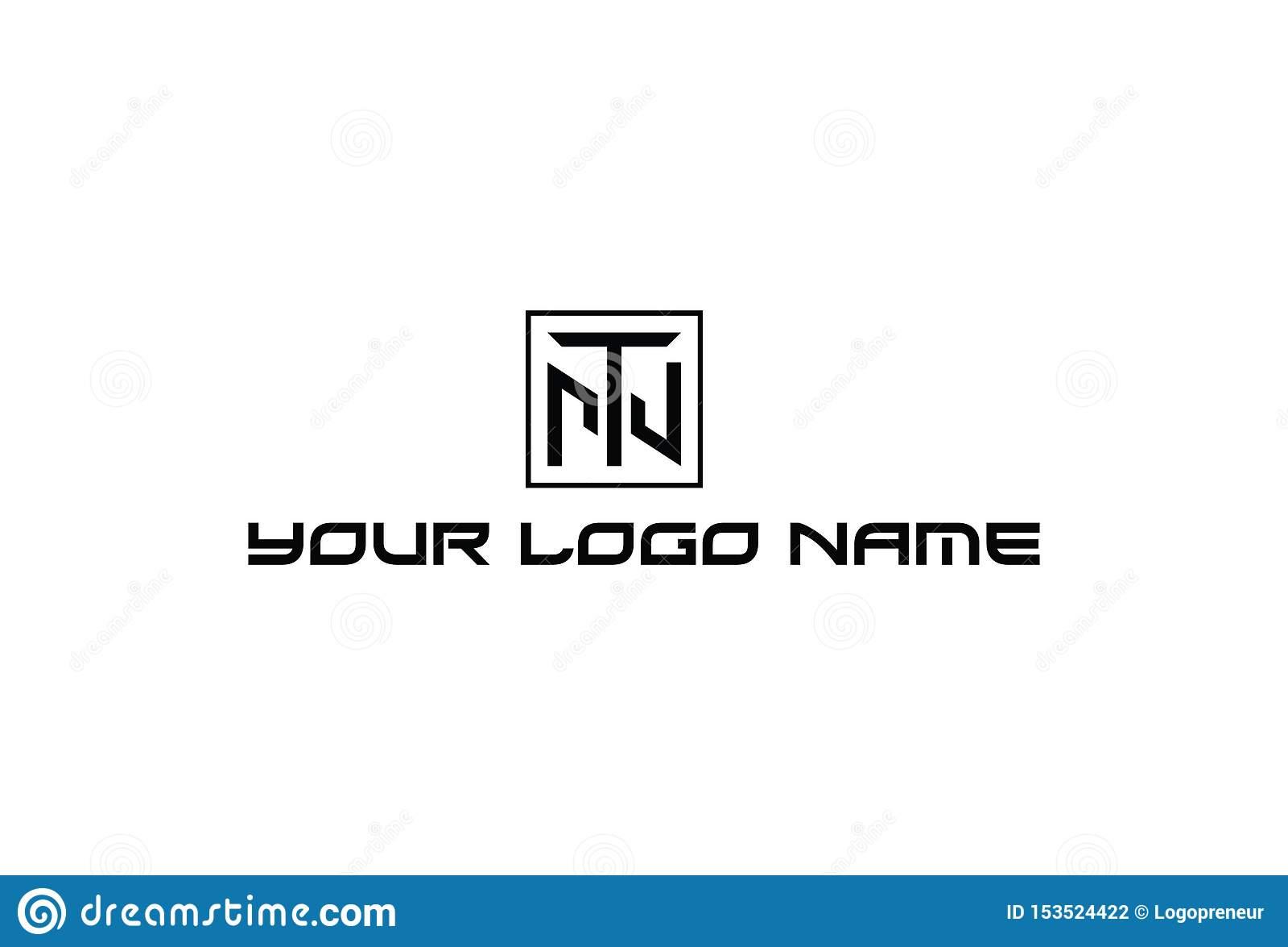 Vector Illustration Of Alphabet T Logo