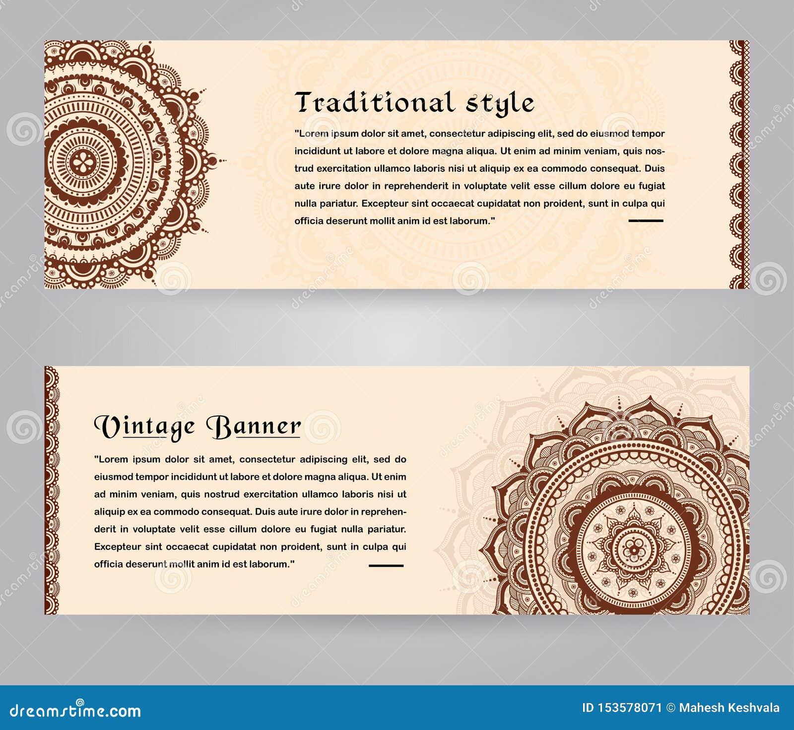 Luxury Wedding Invitation Card Design With Decorative Border