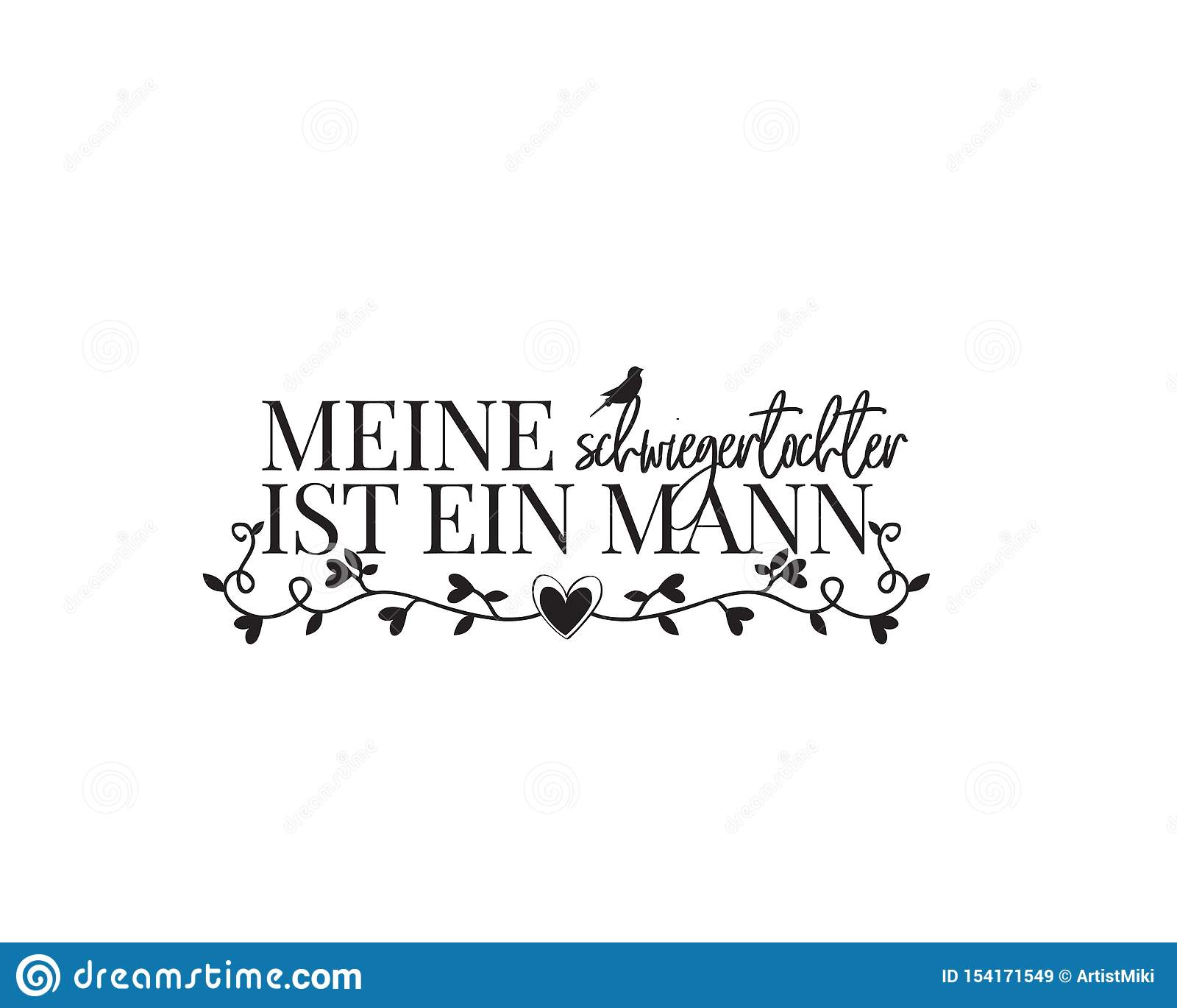 all we need is love german language vector wording design