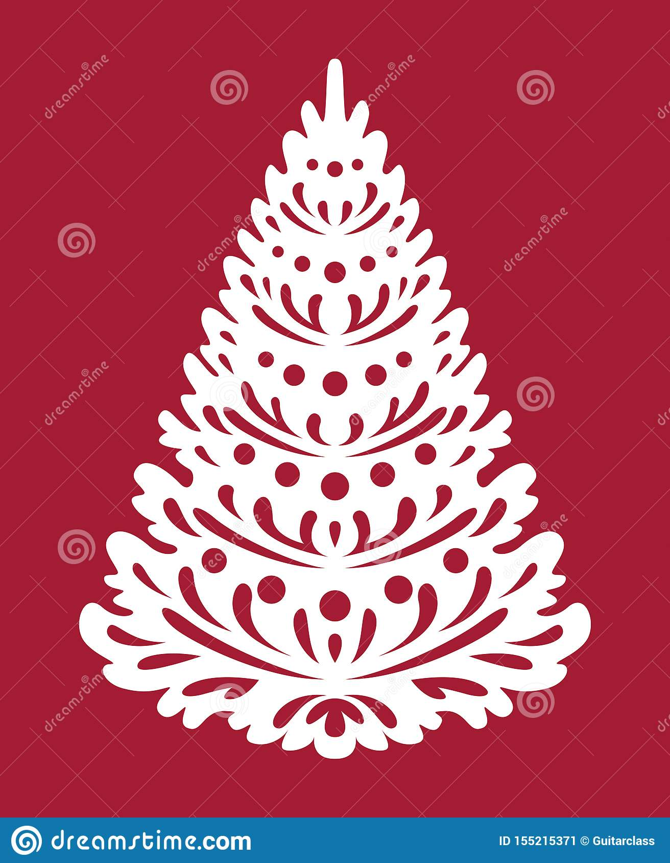 Christmas Tree Template Free from thumbs.dreamstime.com
