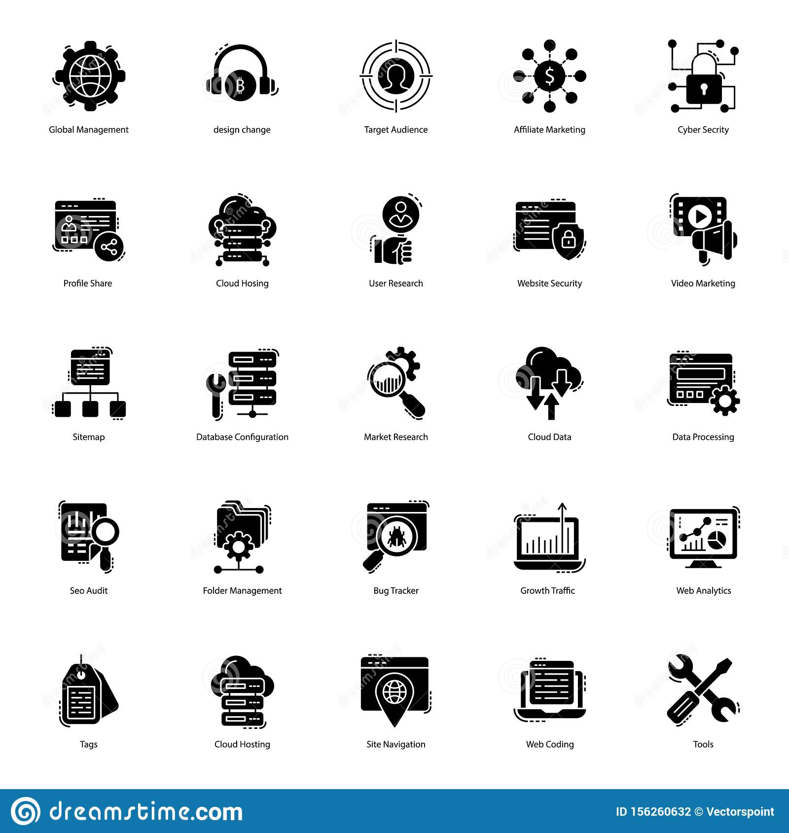Web Solid Icons Pack