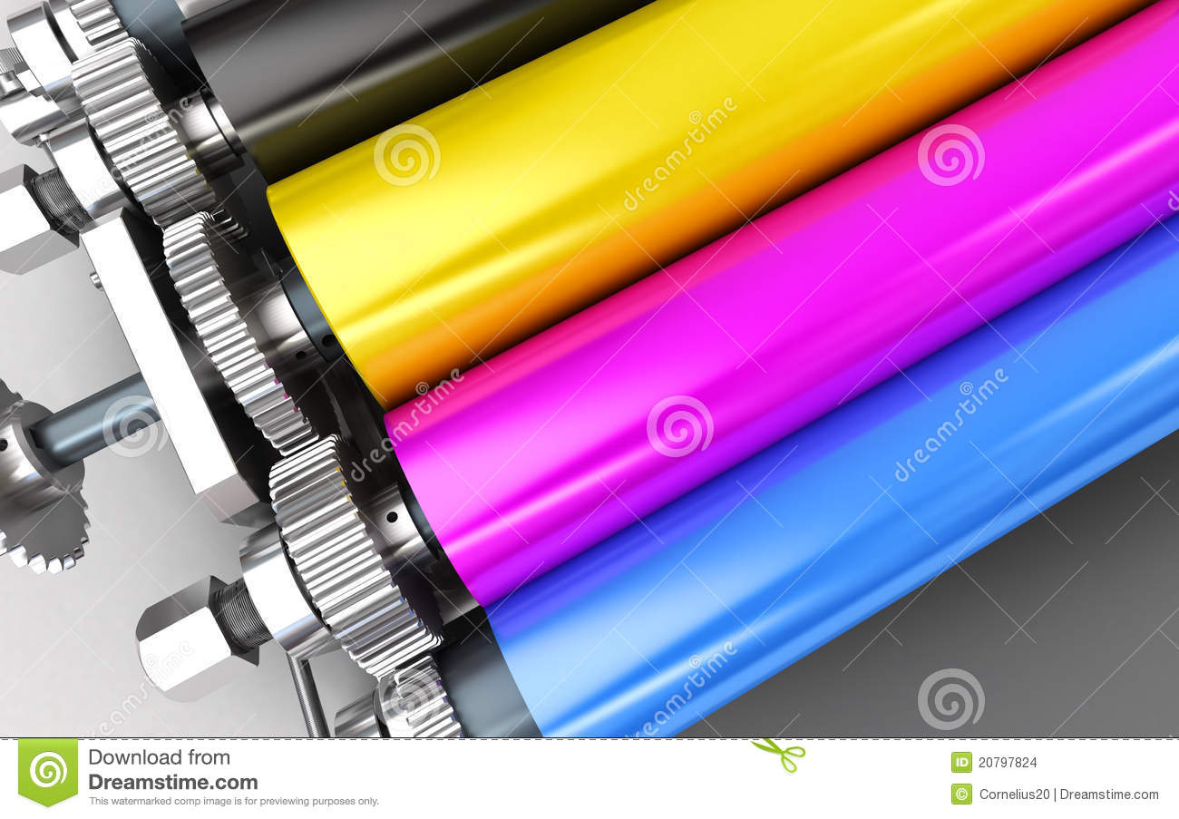 Print Machine Stock Images - Image: 20797824