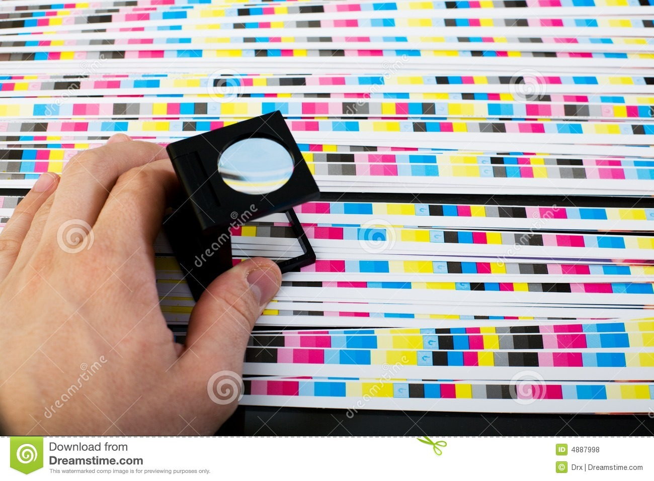 Best color printing quality - Royalty Free Stock Photo Download Print Sheet Color Quality