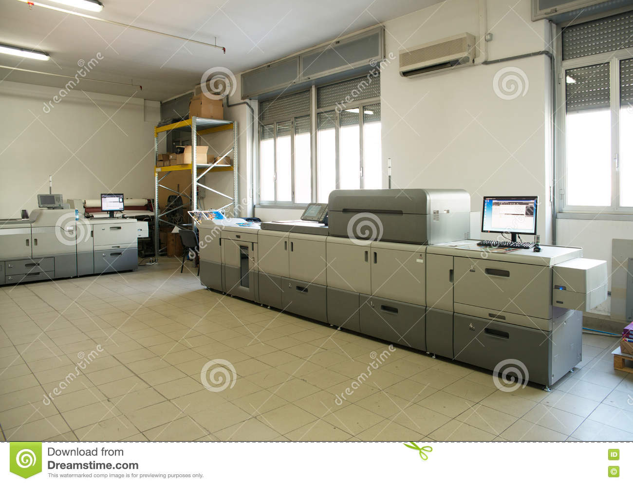 Print Shop - Digital press printing machine
