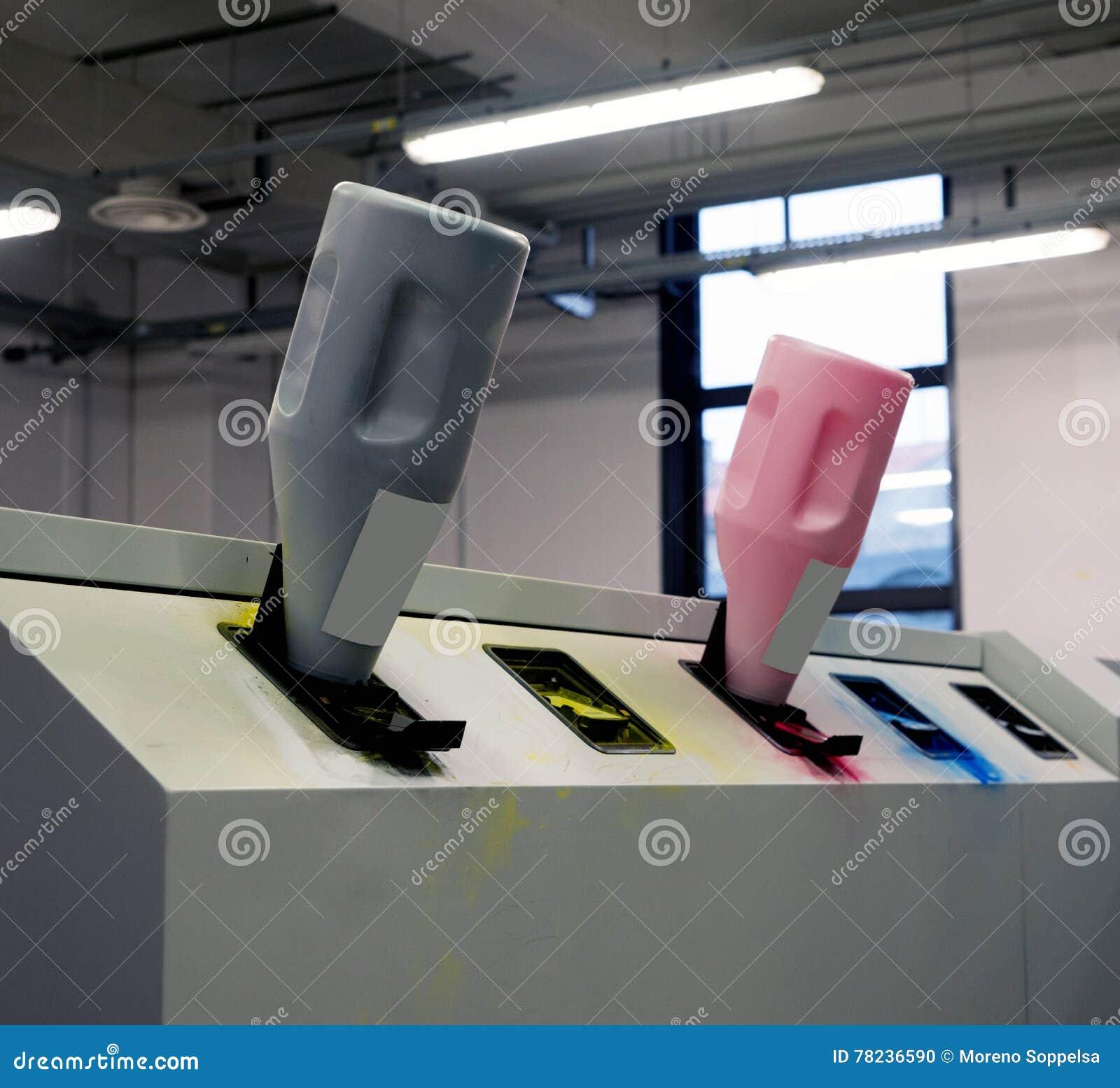 Print Shop - Digital press printing machine