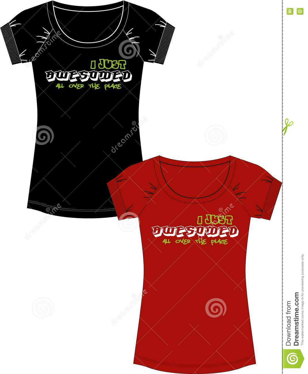 Print For T Shirt Royalty Free Stock Photography Image