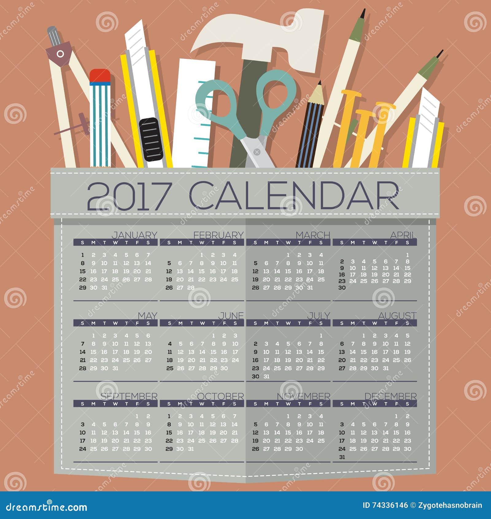 Calendar Design Diy : Printable calendar months starts sunday diy of handcraft s