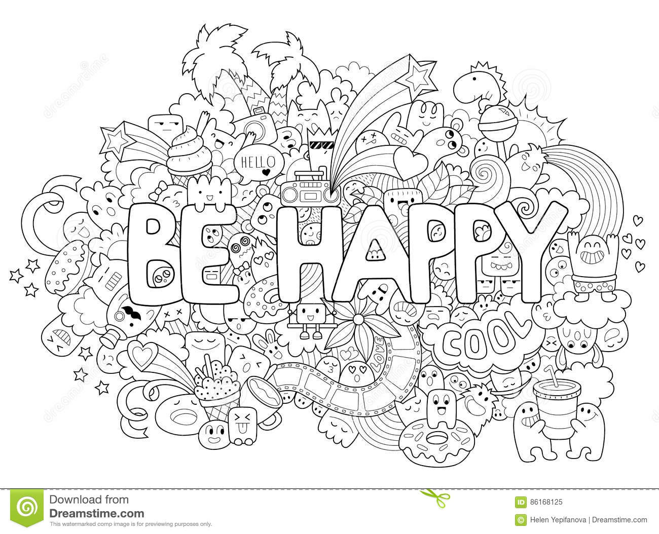 Printable Coloring Page For Adults