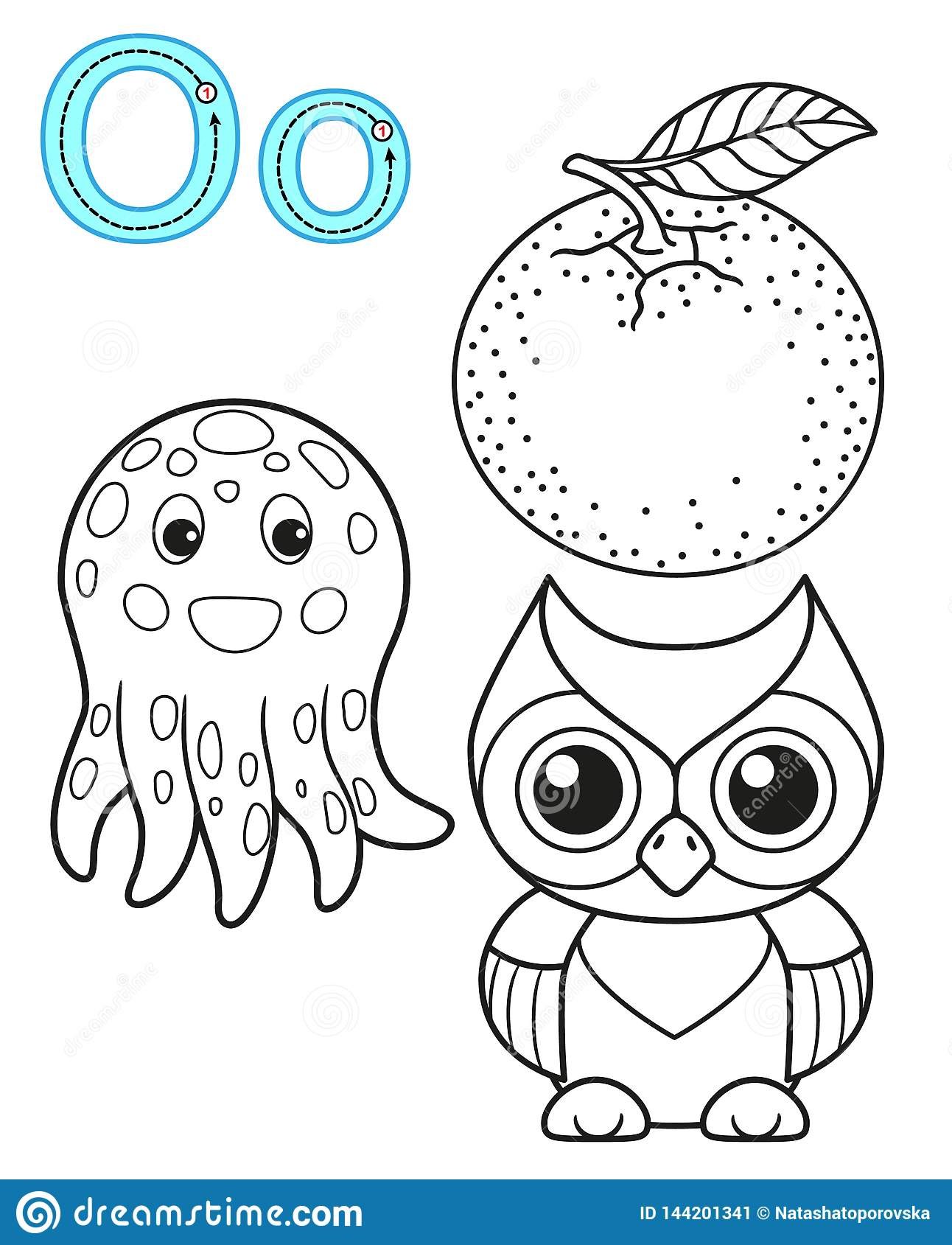 Printable Coloring Page For Kindergarten And Preschool ...