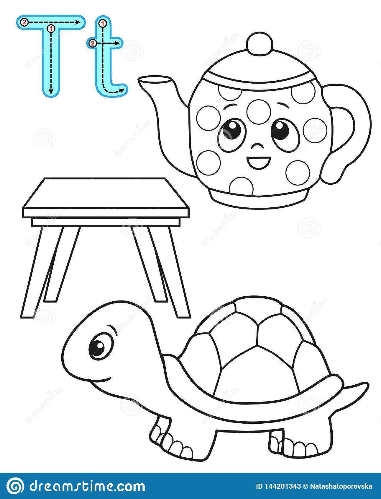 - Printable Coloring Page For Kindergarten And Preschool. Card For