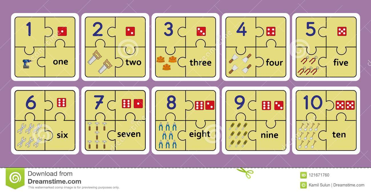 This is a picture of Free Printable Numbers 1-10 with concept 110