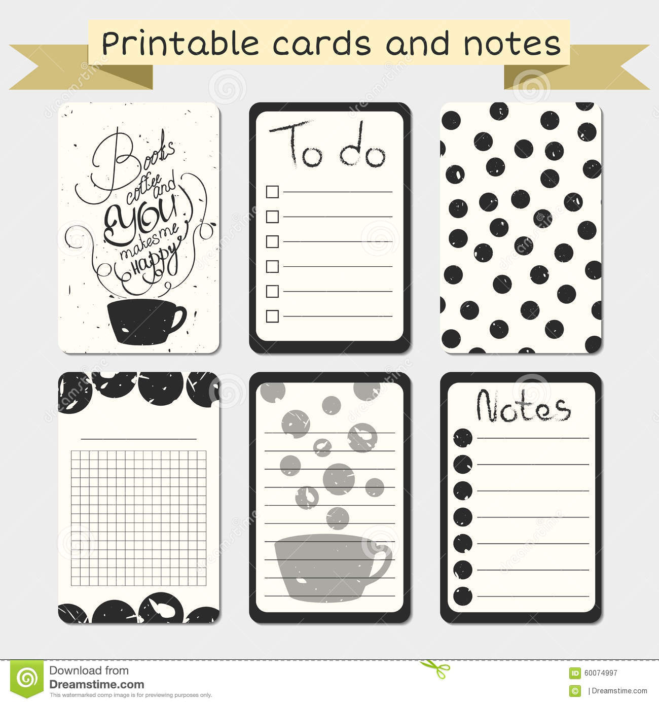graphic relating to Free Printable Journaling Cards identified as Printable Journaling Playing cards. Tasteful Toward Do Record. Example