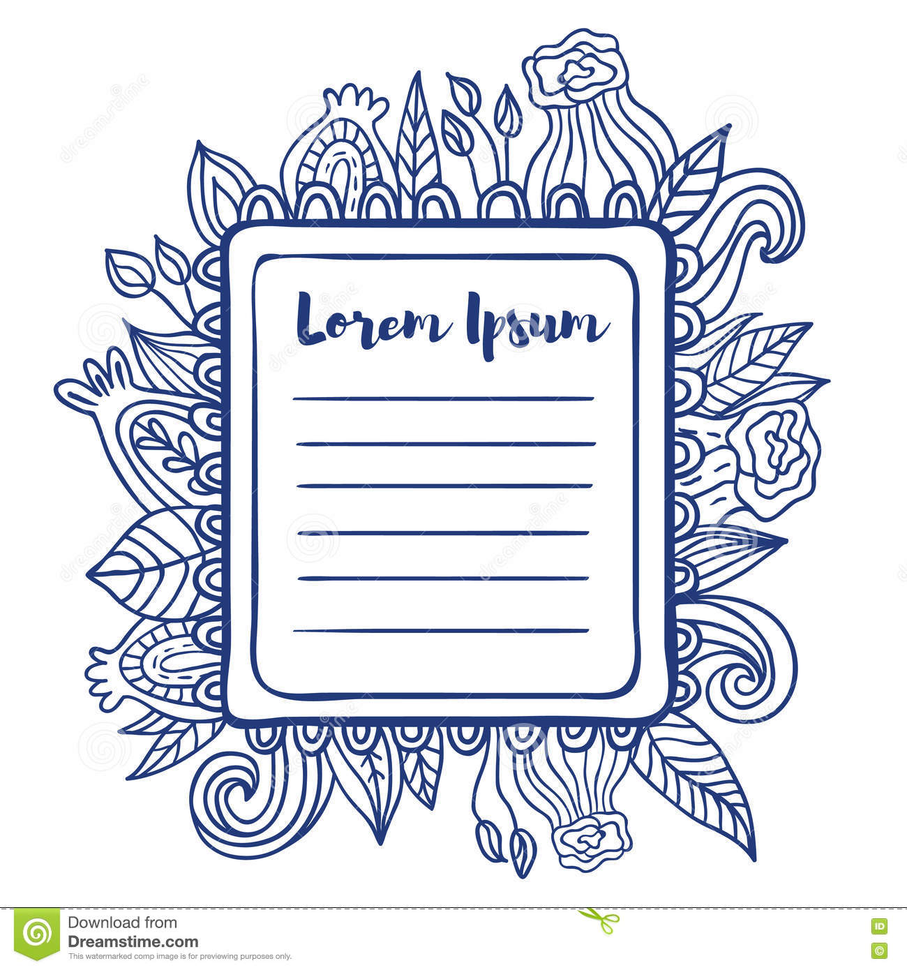 printable to do list page. stock illustration. illustration of note