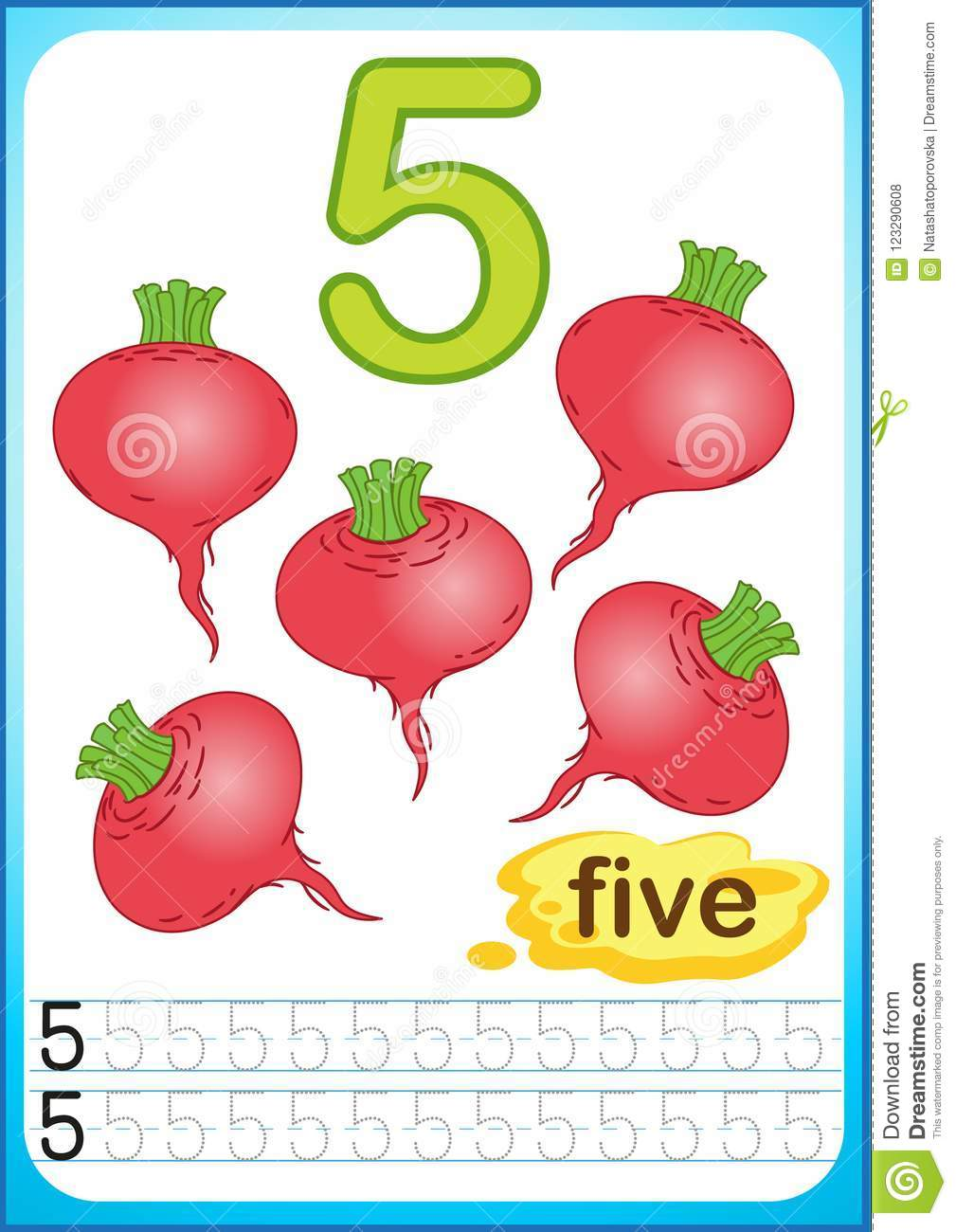 graphic relating to Vegetable Printable referred to as Printable Worksheet For Kindergarten And Preschool