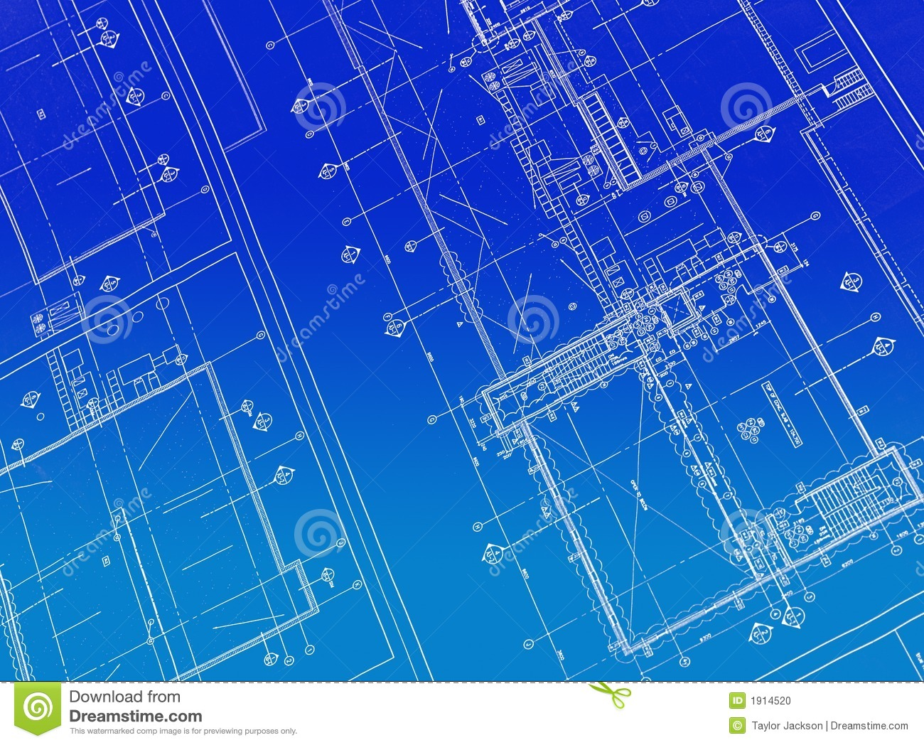 Printed blueprint stock photo image 1914520 for How to make a blueprint