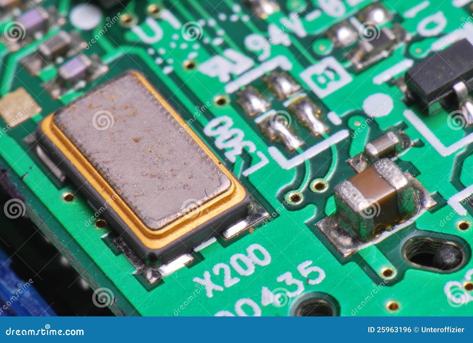 Printed Circuit Board stock photo  Image of electronics - 25963196