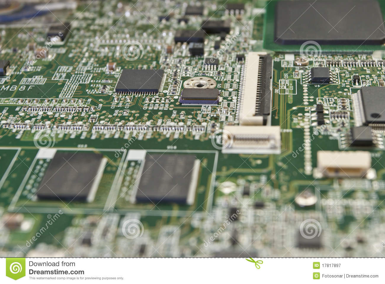 printed circuit board for electronic components royalty