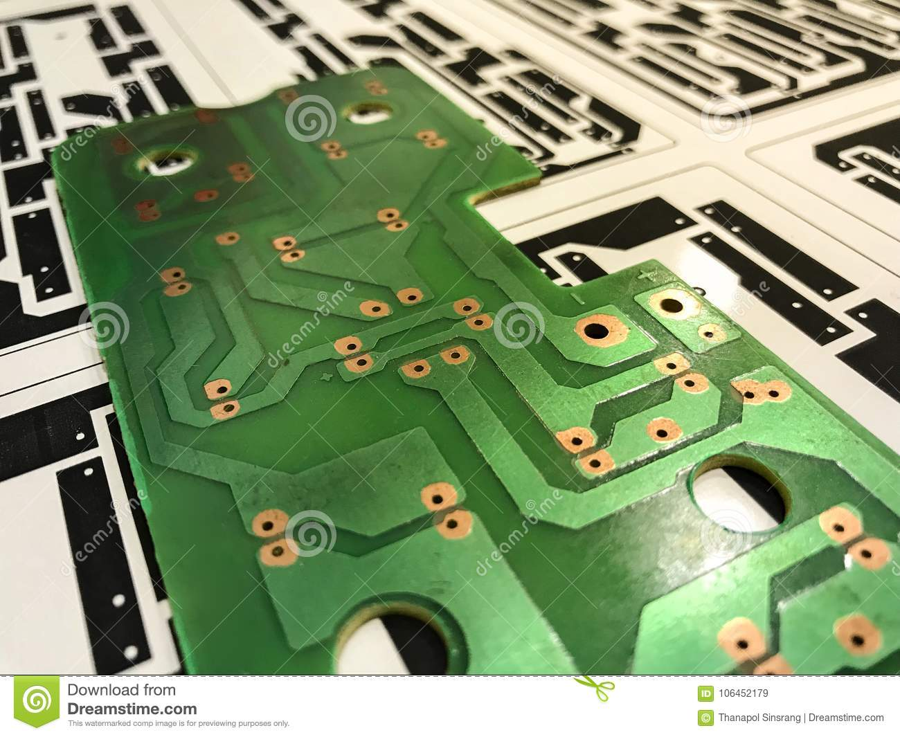 Printed Circuit Board Stock Image Of Macro Processor 106452179 Technology Conceptual Electronic Can Be Attributed To Your Work Presenting Future Concepts