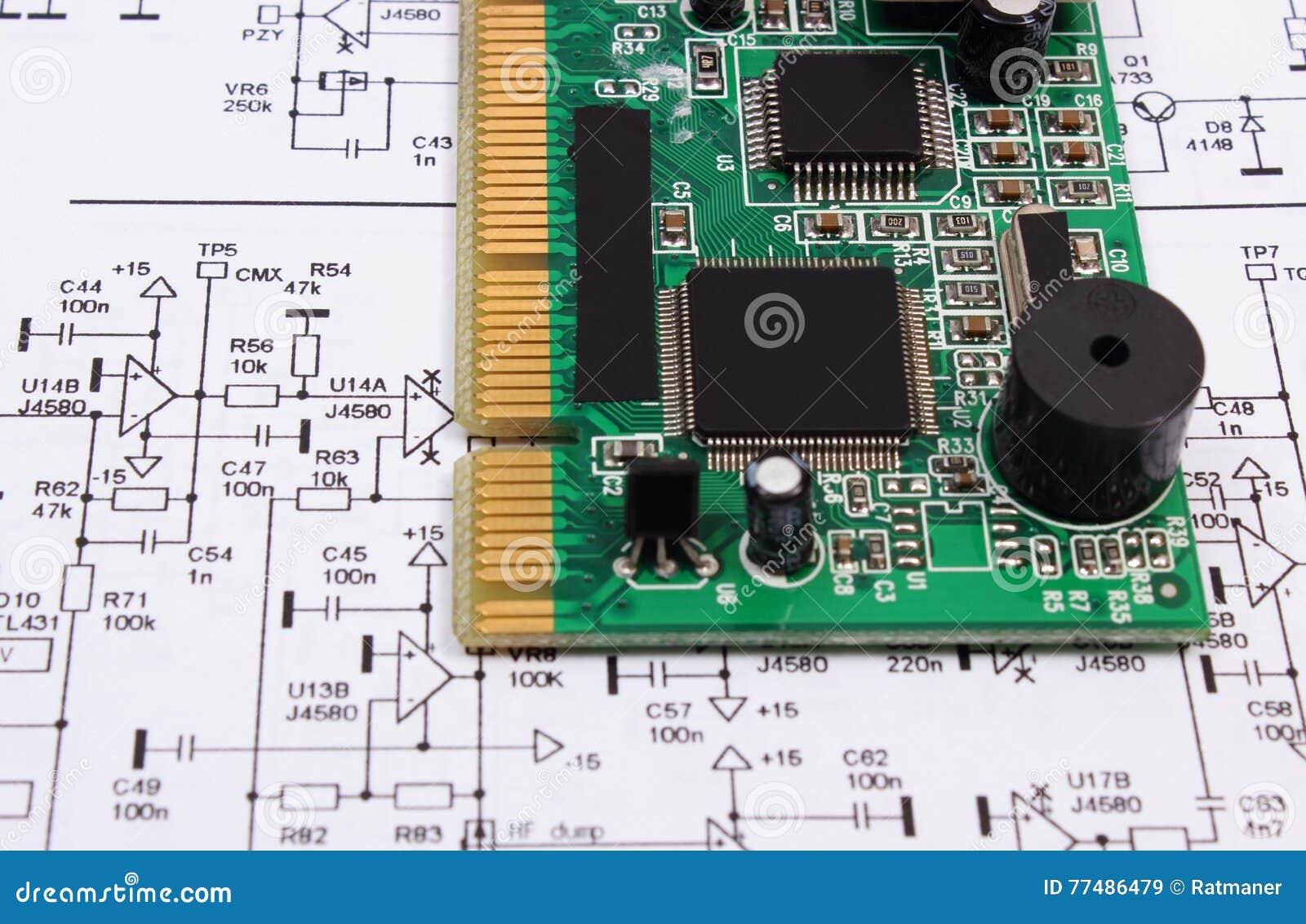 Printed Circuit Board Royalty Free Stock Photo Image 17535295